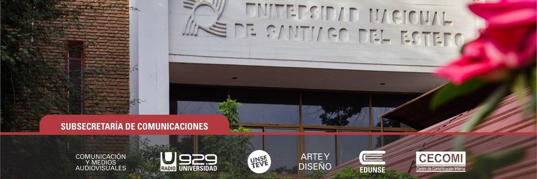 Universidad Nacional de Santiago del Estero's official Twitter account