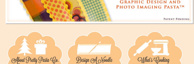 Introducing the World's First Designer Pasta! Patented. Visit us: prettypasta.com