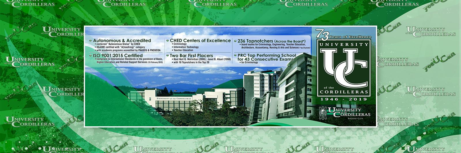 University of the Cordilleras's official Twitter account
