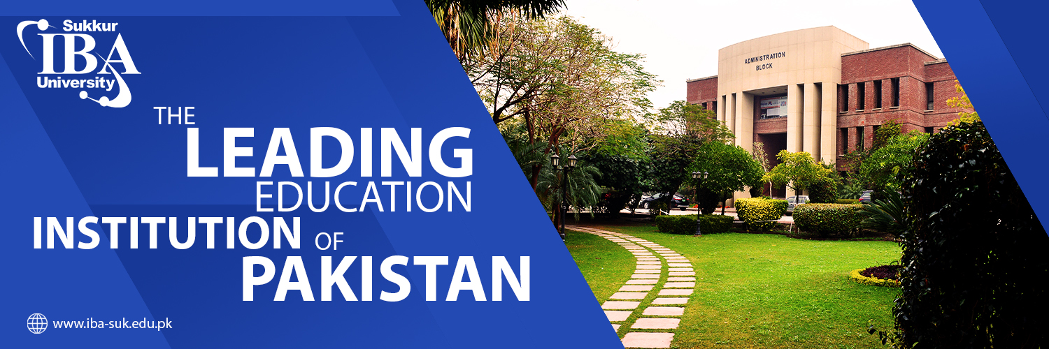 Sukkur Institute of Business Administration's official Twitter account