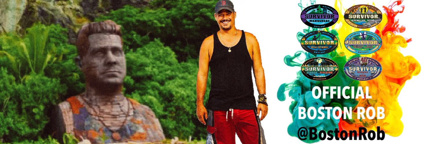 Official Twitter page for Boston Rob Mariano: husband, father, adventure seeker, entrepreneur.