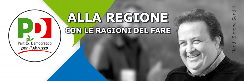 BARTOLOMEO DONATO DI MATTEO Consigliere della Regione Abruzzo