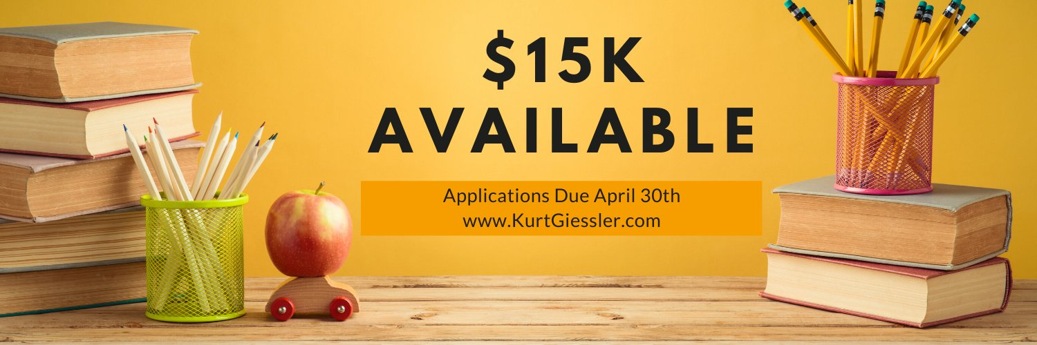 Kurt Giessler Foundation for Youth Achievement-providing grants to fund individuals, ages 12-20, for self-directed educational projects