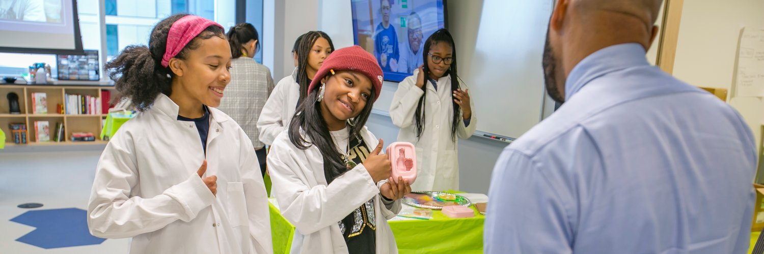 Opening doors for the minds of tomorrow. Powered by the @UCScienceCenter.