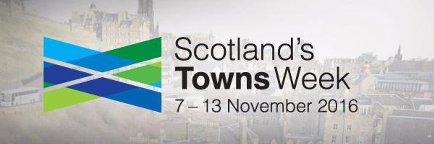 Take part in Scotland's Towns Week 2016, 7 - 13 November. Celebrate your town by spending time in it! Launch a campaign or take part in activities. #LoveMyTown