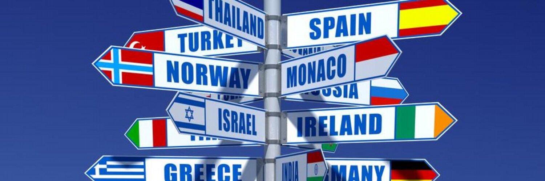 Картинки с указателями стран
