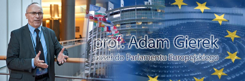 Adam GIEREK Eurodeputato del Parlamento Europeo