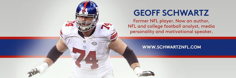 8 yr NFL OL   'Pac12 2Day' @siriusxm 373 I @siriusXMNFL I @espnradio I 'Geoff Schwartz Is Smarter Than You' podcast. Just a Fat Kid Living a Dream.