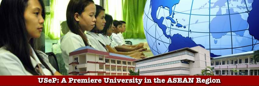 University of Southeastern Philippines's official Twitter account