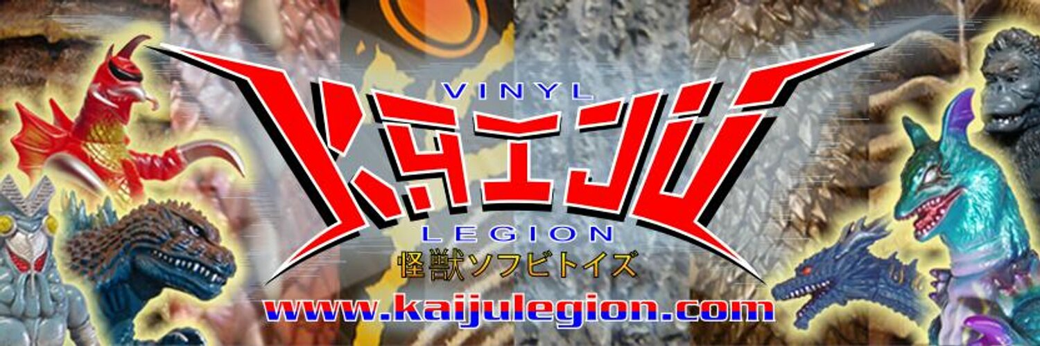Vinyl Kaiju Legion - Vintage and modern Japanese toys! Also check out our Facebook page at: facebook.com/groups/1652152…