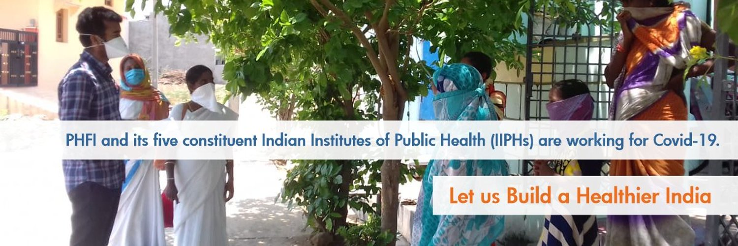 Public Health Foundation of India is working towards a healthier India. PHFI has established five Indian Institutes of Public Health (IIPHs) across the country