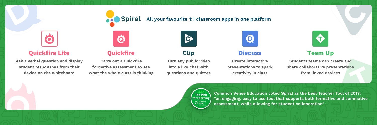 All the best formative assessment tools. Rolled into one. ❤️ Join Free: spiral.ac