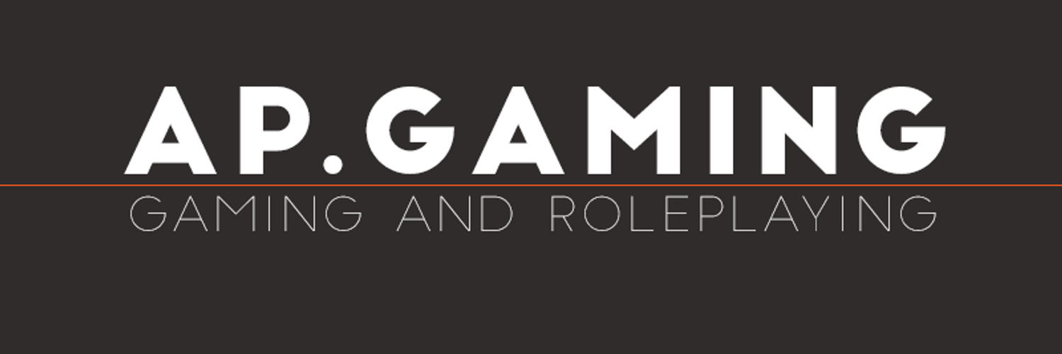 Tabletop GM, Twitch Streamer, Gamer, Electrical Engineer twitch.tv/apgamingreal youtube.com/apgamingreal Business Inquiries to APGamingREAL@gmail.com