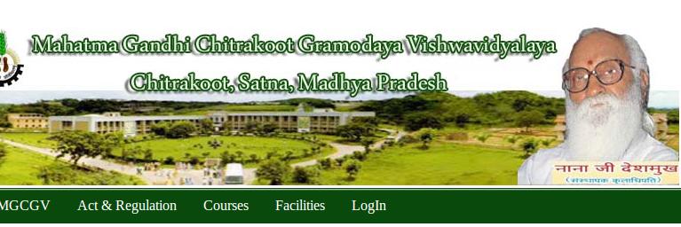 Mahatma Gandhi Chitrakoot Gramoday Vishwavidyalaya's official Twitter account