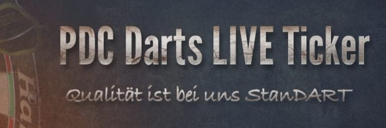 pdc darts live ticker