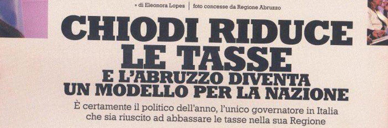 GIOVANNI CHIODI Consigliere - Candidato Presidente della Regione Abruzzo