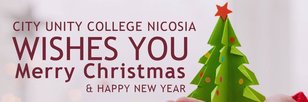 City Unity College Nicosia's official Twitter account