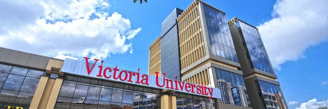 Victoria University, Kampala's official Twitter account