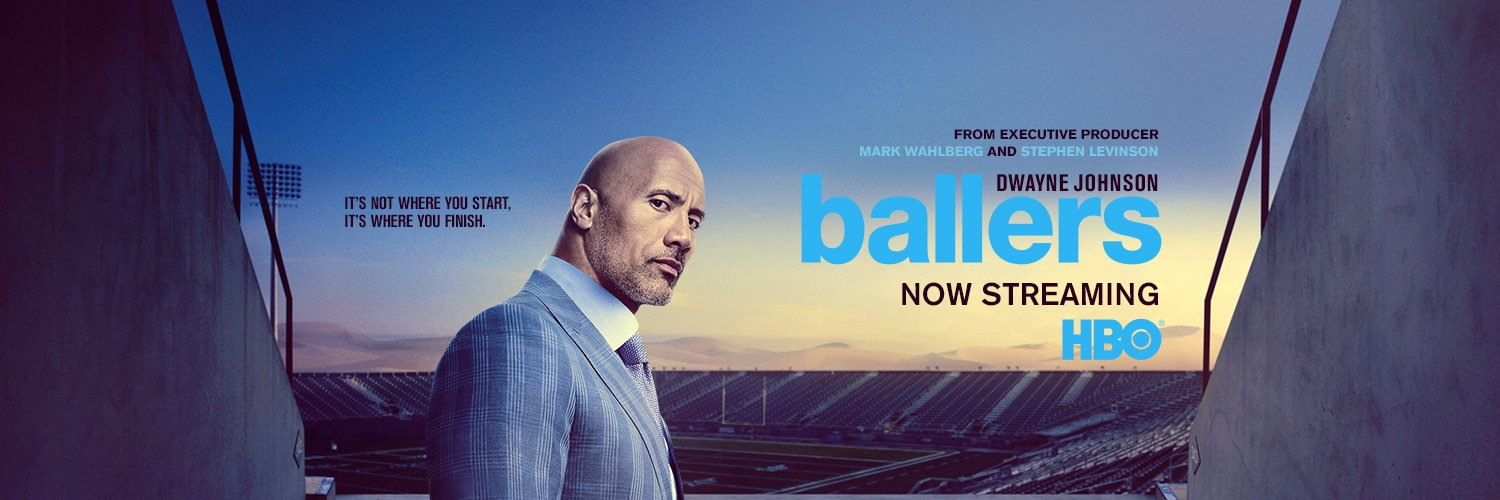 It's not where you start, it's where you finish. Stream seasons 1-5 of #Ballers now on @HBO.