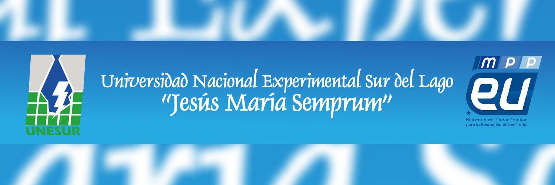 Universidad Nacional Experimental Sur del Lago Jesús Maria Semprum's official Twitter account