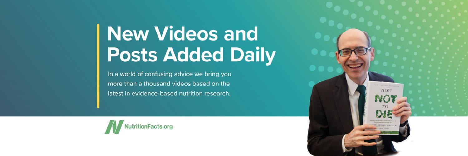 Dr. Michael Greger's NutritionFacts.org is a noncommercial, science-based source for the latest in nutrition profiled in hundreds of short engaging videos.