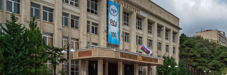 Baki Dövlet Universiteti's official Twitter account