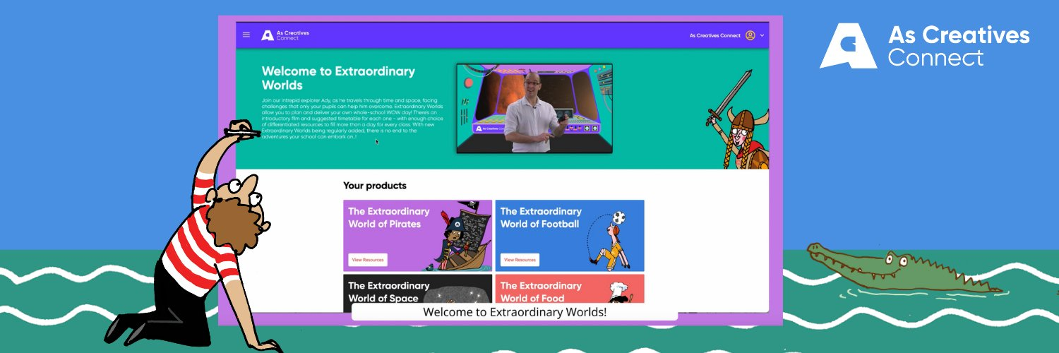 We connect teachers and pupils with creative approaches to learning across the UK and beyond ascreatives.com/digital-maths-…