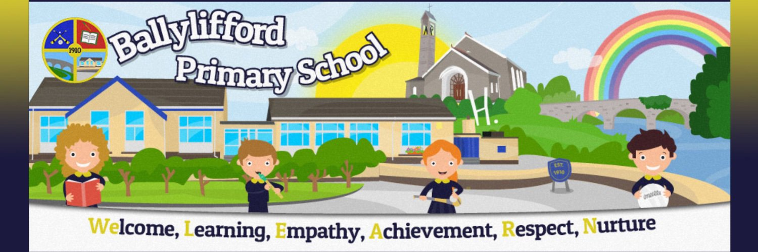 📍in St. Patrick's Ballinderry Parish. 'Nurturing Potential, Achieving Together' 'We LEARN'-Welcome, Learning, Empathy, Achievement, Respect & Nurture