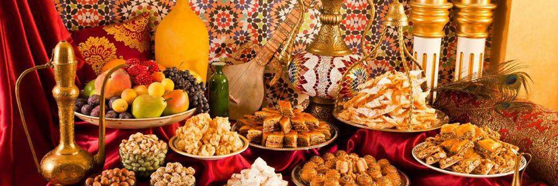 все поезда фото сладостей на столе дастархан турции обладают невероятной