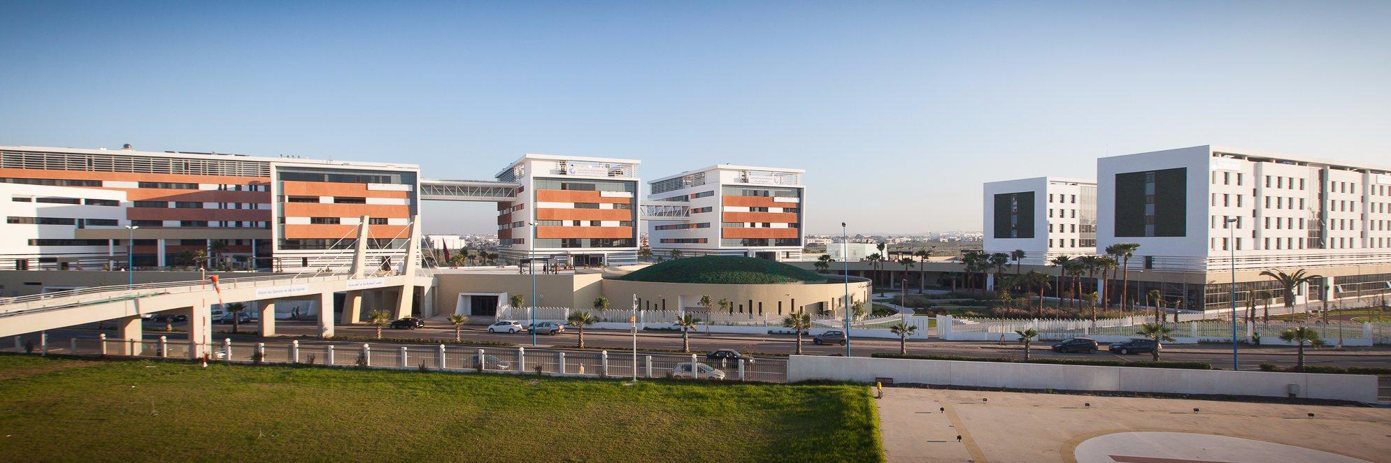 Université Mohammed VI des Sciences de la Santé's official Twitter account