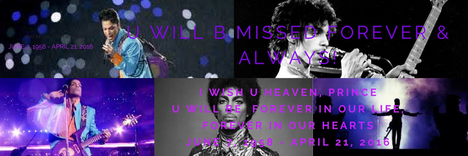 Rest in Paradise, our beloved Prince. We'll love you forever.