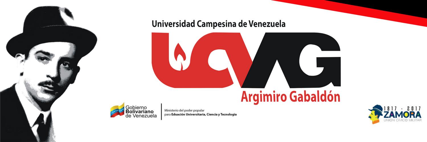 Universidad Campesina de Venezuela Argimiro Gabaldón's official Twitter account