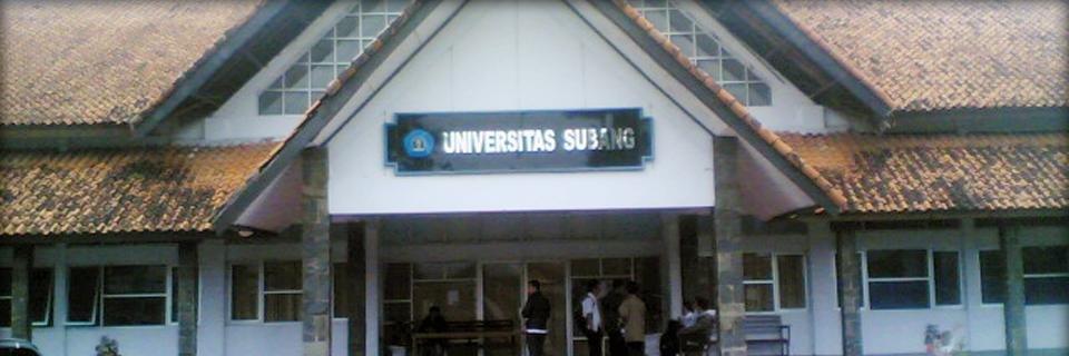 Universitas Subang's official Twitter account