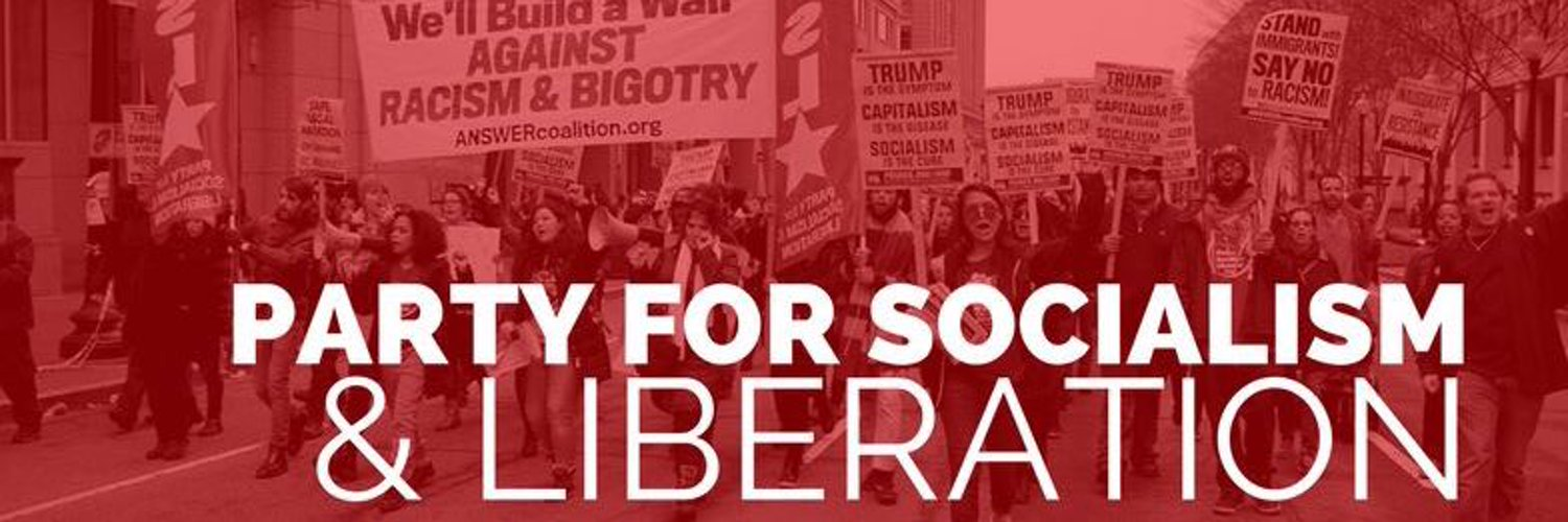 Party for Socialism and Liberation (@pslweb) on Twitter banner 2009-04-01 22:34:31