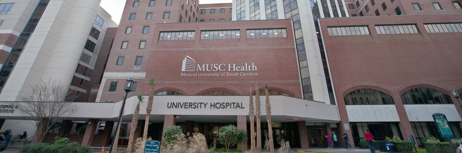 Medical University of South Carolina's official Twitter account