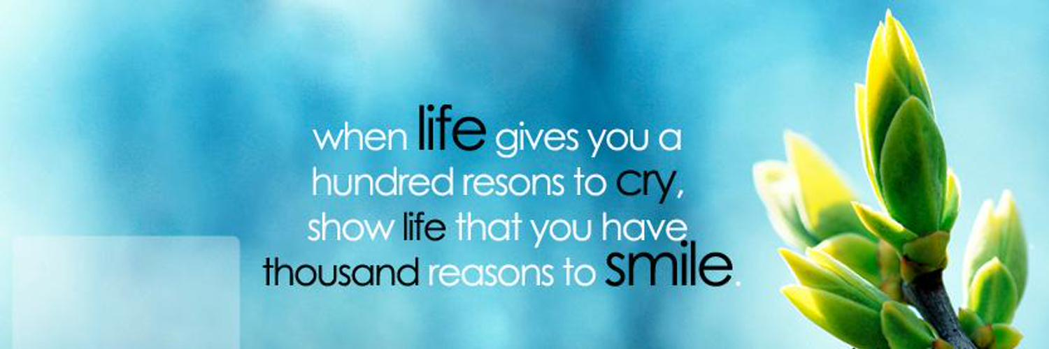 a thousand reasons to smile A thousand reasons to smile topics: english-language films, lil wayne, family pages: 3 (960 words) published: february 6, 2013 when life gives you a hundred reasons to cry, show life that you have a thousand reasons to smile.