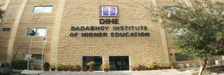 Dadabhoy Institute of Higher Education's official Twitter account