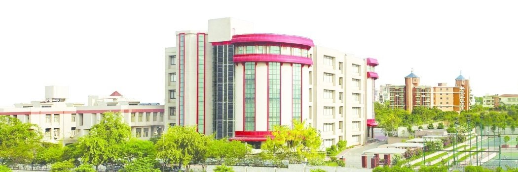 Sushant University's official Twitter account