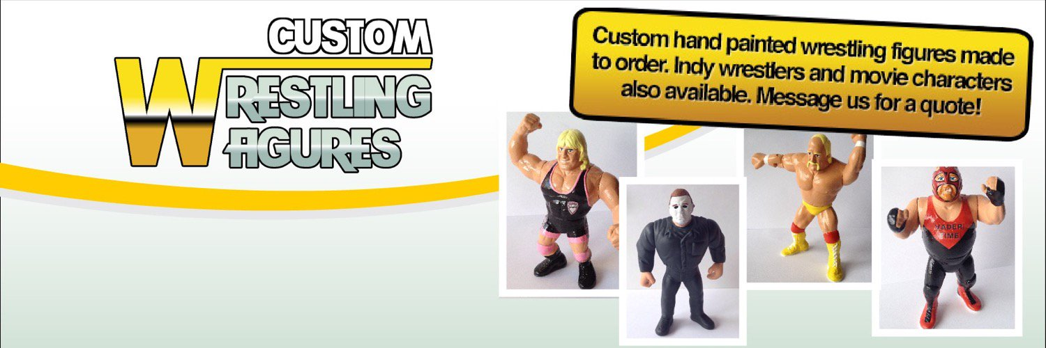 Custom Indy Wrestling Figures made to order. Order an action figure of YOURSELF! DM us with your picture for a quote!!