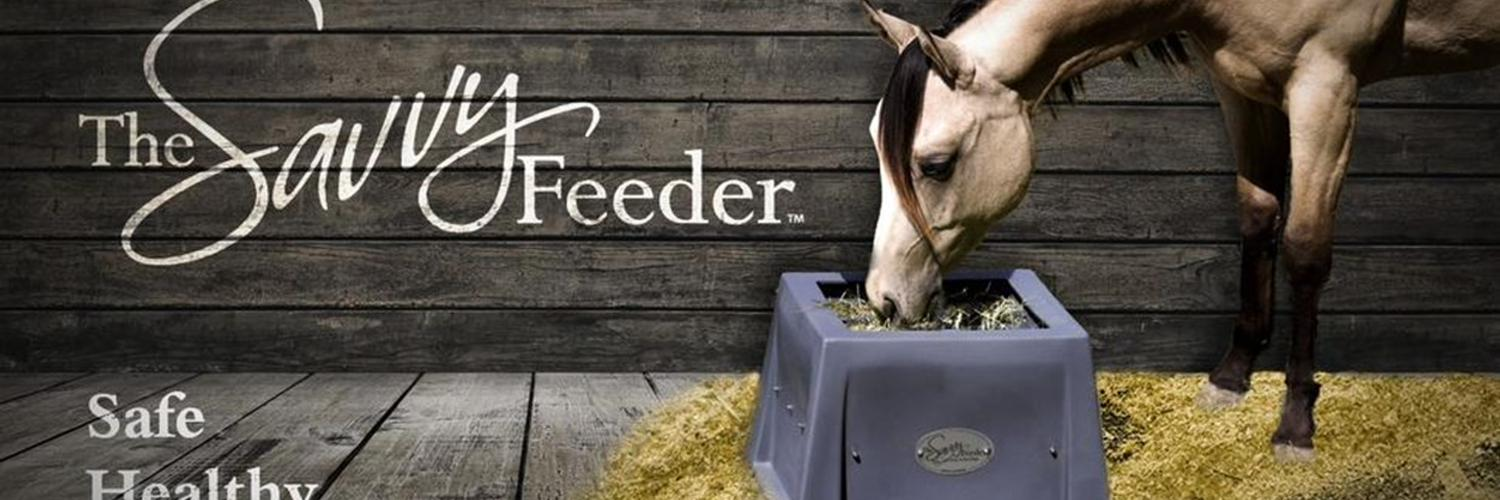 The smart slow feeder that is perfect for the stall, the paddock, at the show and by the hitching post.