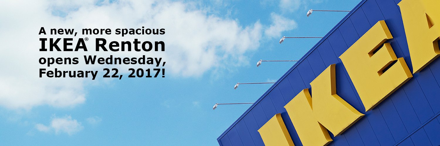 Ikea renton ikearenton twitter for Ikea seattle ameublement renton wa
