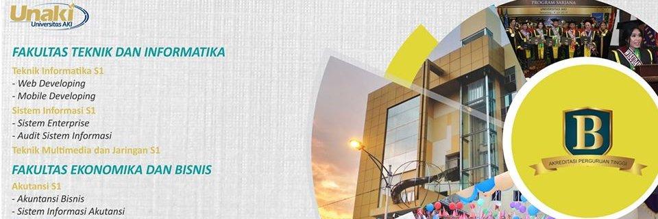 Universitas AKI's official Twitter account