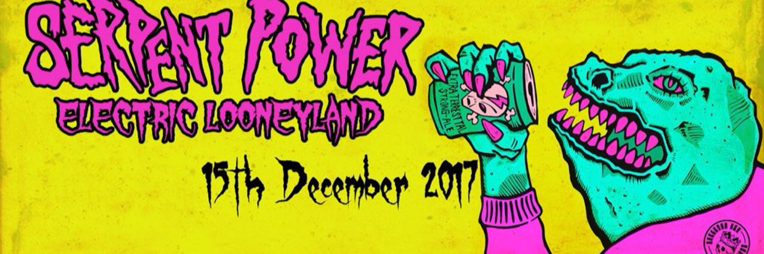 Serpent Power is a psychedelic collaboration between Ian Skelly and Paul Molloy (Coral/Zutons). 'ELECTRIC LOONEYLAND' out December 15th 2017