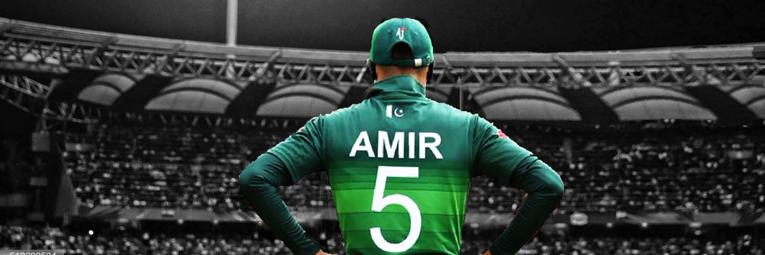 Proud Pakistani. Pakistan Cricket Team Player. For Business/PR/Cricket contracts: TAK @qaynasports and @nomanalam. Facebook: mamir instagram: official.mamir