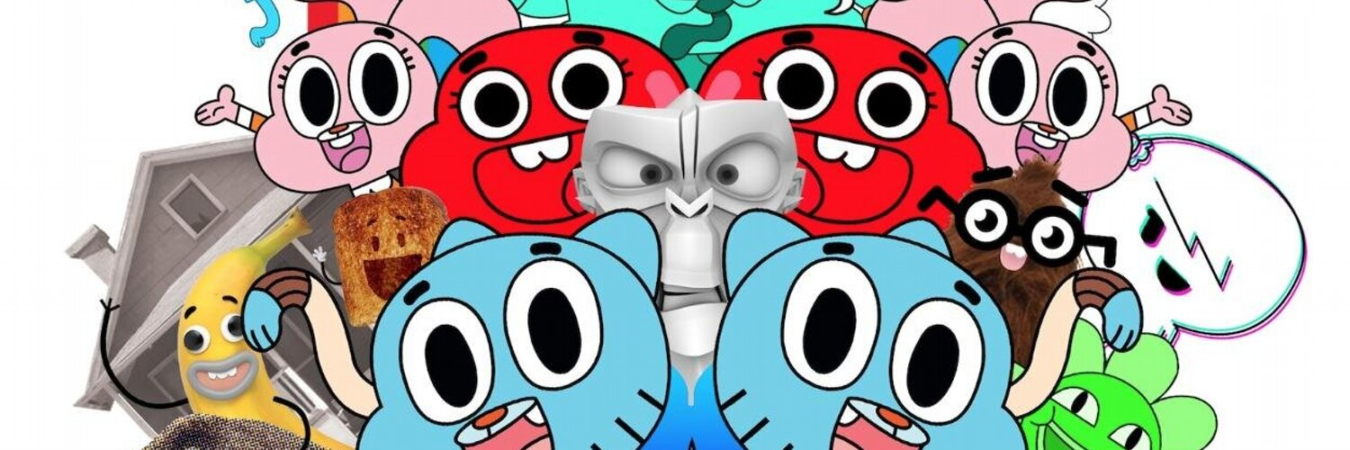 I created a cartoon called Gumball