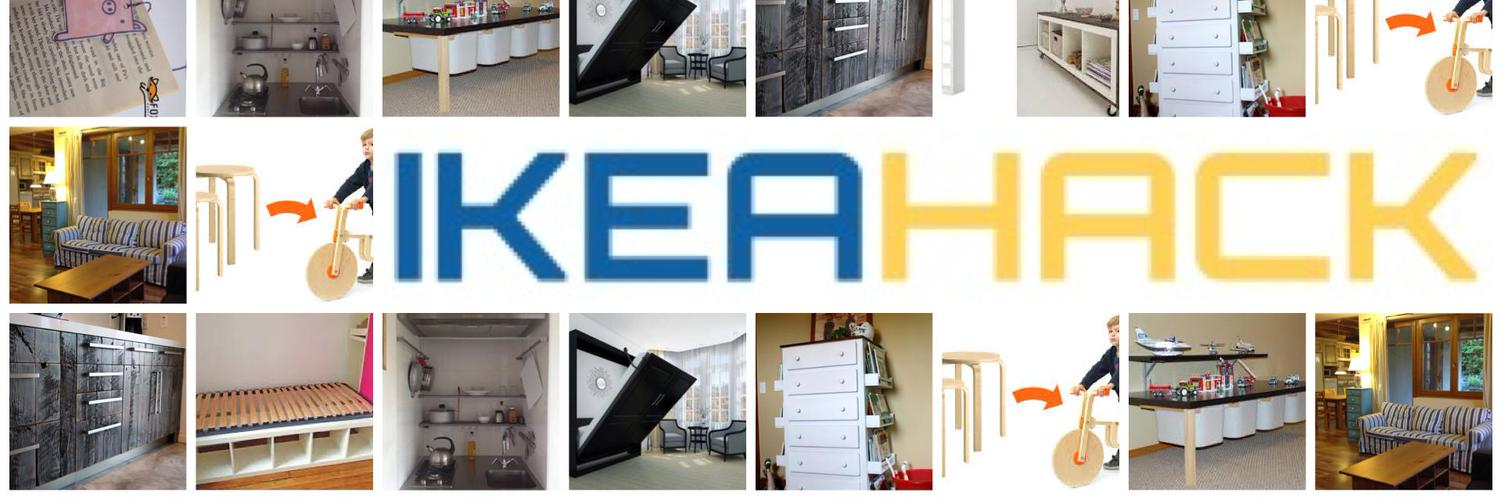 ikea hack hack ikea twitter. Black Bedroom Furniture Sets. Home Design Ideas