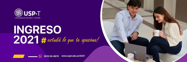 Universidad de San Pablo-T's official Twitter account
