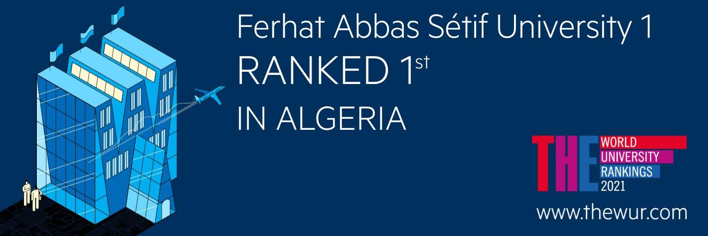 Université Ferhat Abbas Sétif 1's official Twitter account