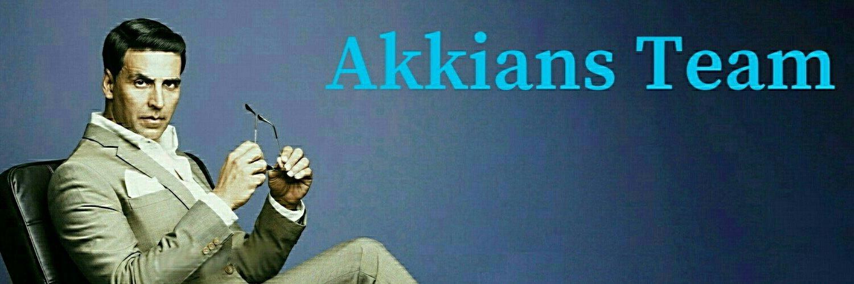 Fan Club of Bollywood's one and Only Megastar @Akshaykumar. #AkkiansTeam. Team of Akkians
