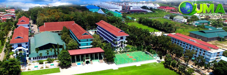 Universitas Medan Area's official Twitter account